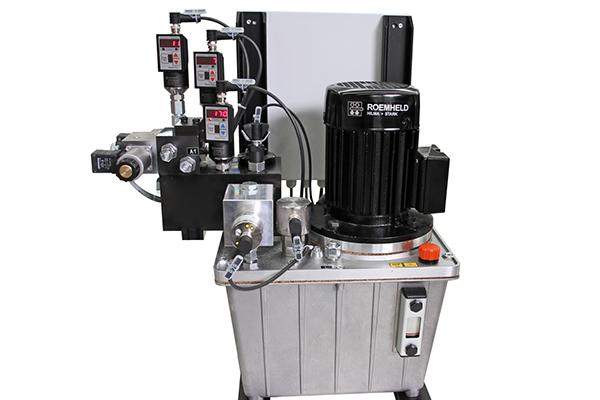Zasilacze hydrauliczne w wersji specjalnej