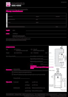 ROEMHELD – Lista kontrolna Prasy montażowe FORMULARZ AKTYWNY