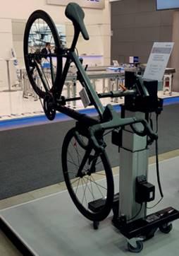 Mobilne stanowisko montażowe do rowerów